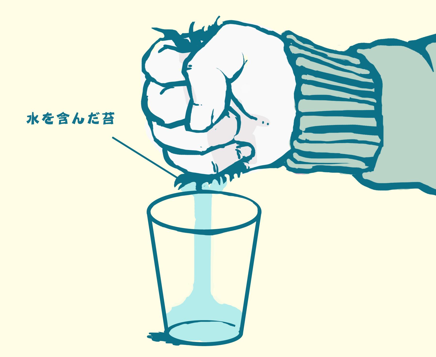 10ザ男前。力任せで水を得る方法