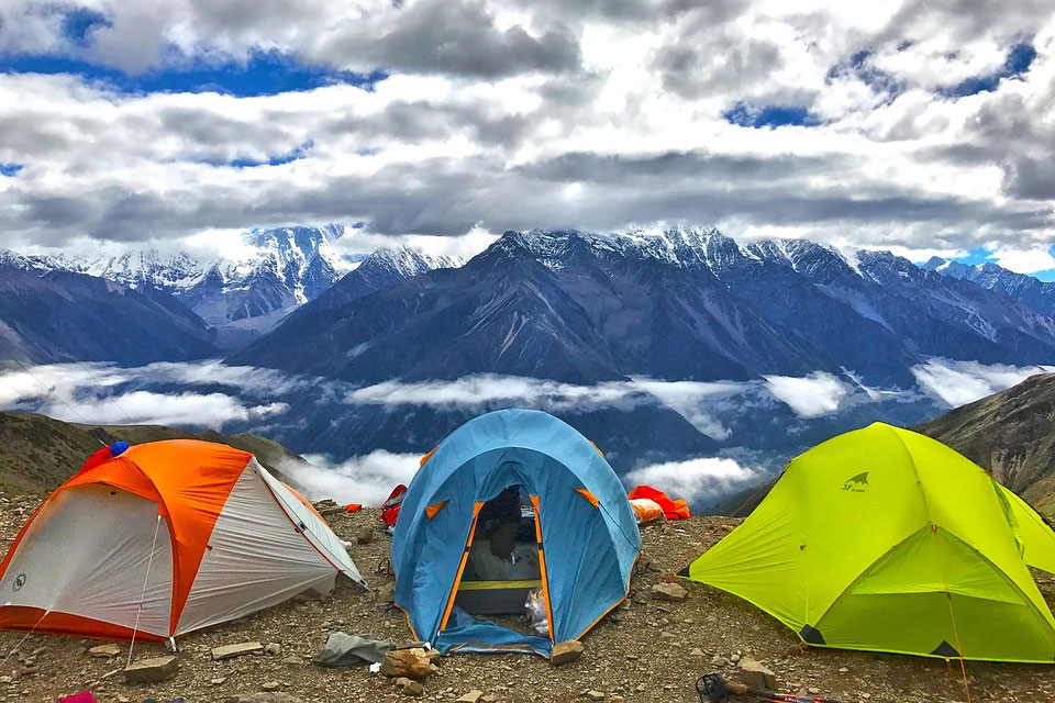 登山とテント