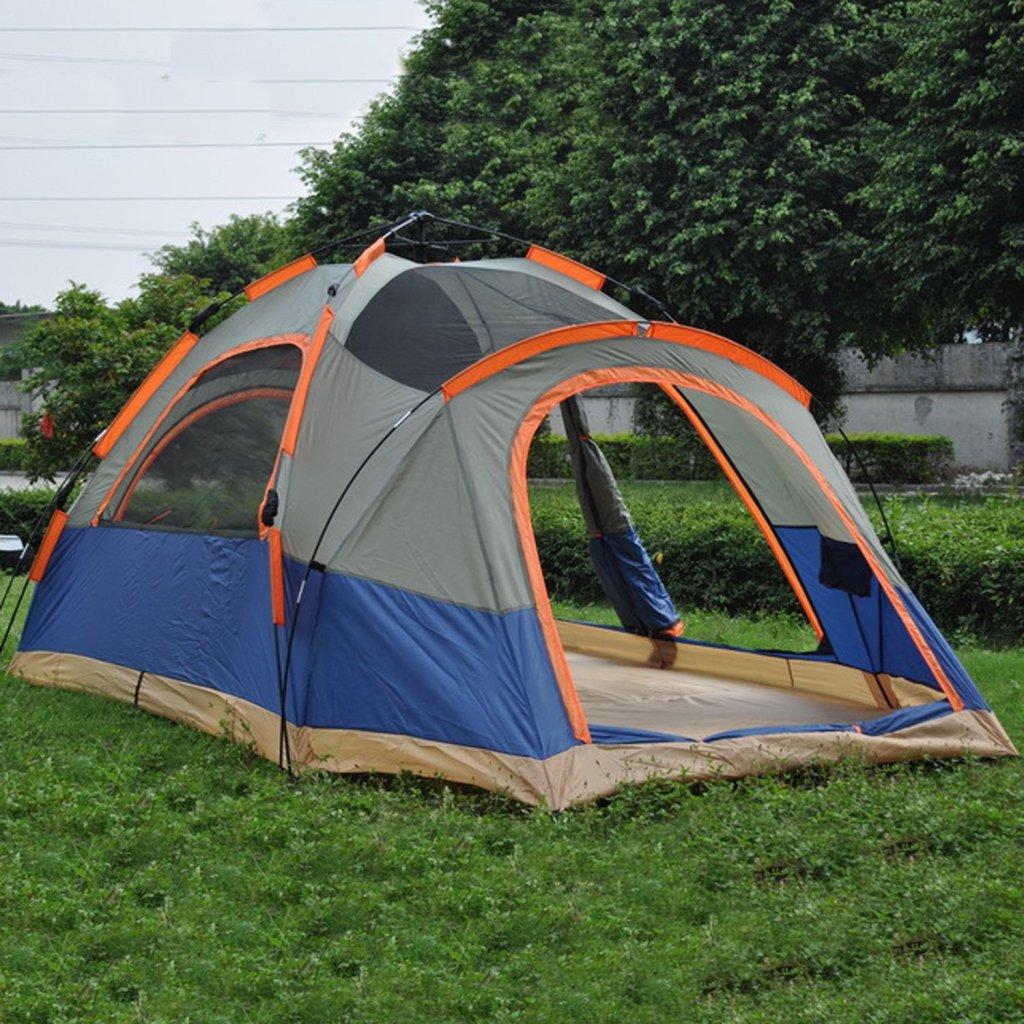 キャンプにはワンタッチテントがオススメ!|マウンテンシティメディア