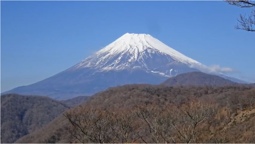愛鷹山からの富士