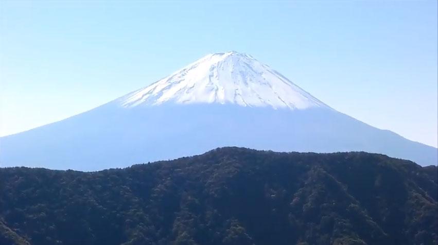 釈迦ヶ岳からの富士