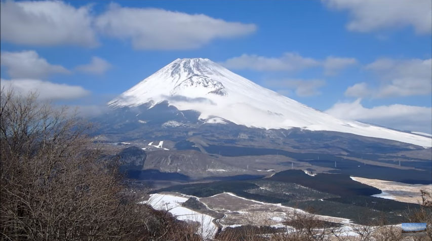 黒岳からの富士
