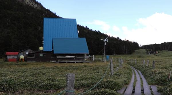 縞枯山荘の写真